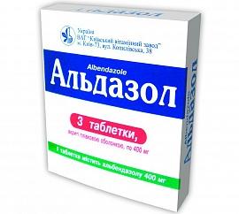 Альдазол таб 400мг 3